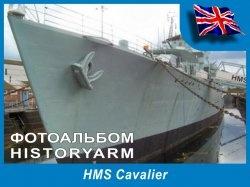 Книга Английский эсминец HMS Cavalier