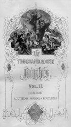 Книга The thousand and one nights. Vol. 2.