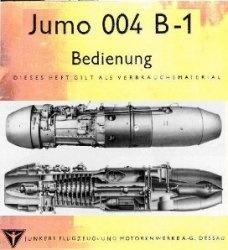 Книга Jumo 004 B-1 Bedienung