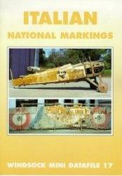 Книга Windsock Mini Datafile 17 - Italian National Markings