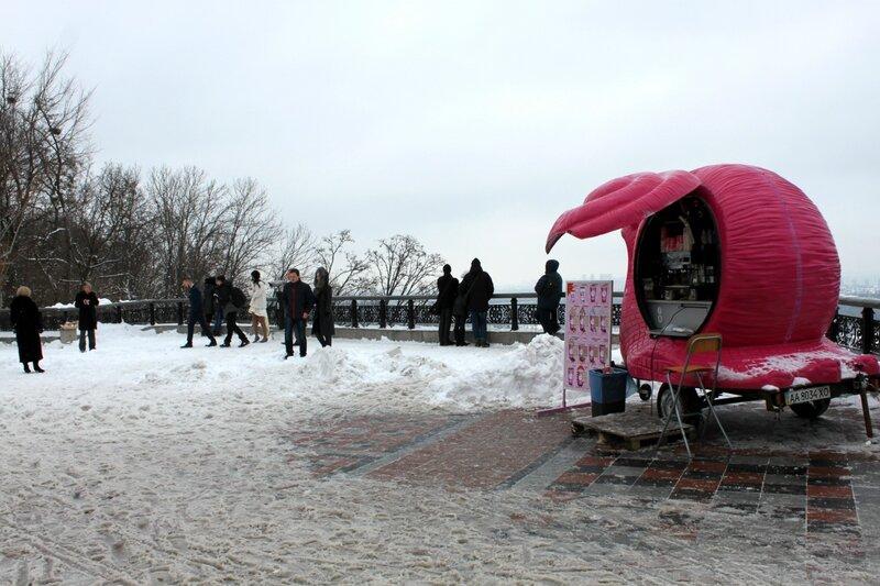 Площадка обозрения Мариинского парка