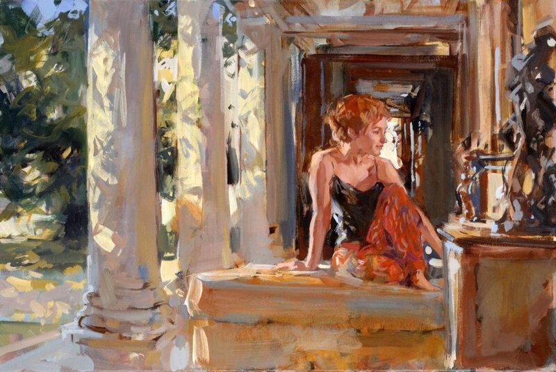 Английский художник Paul Hedley