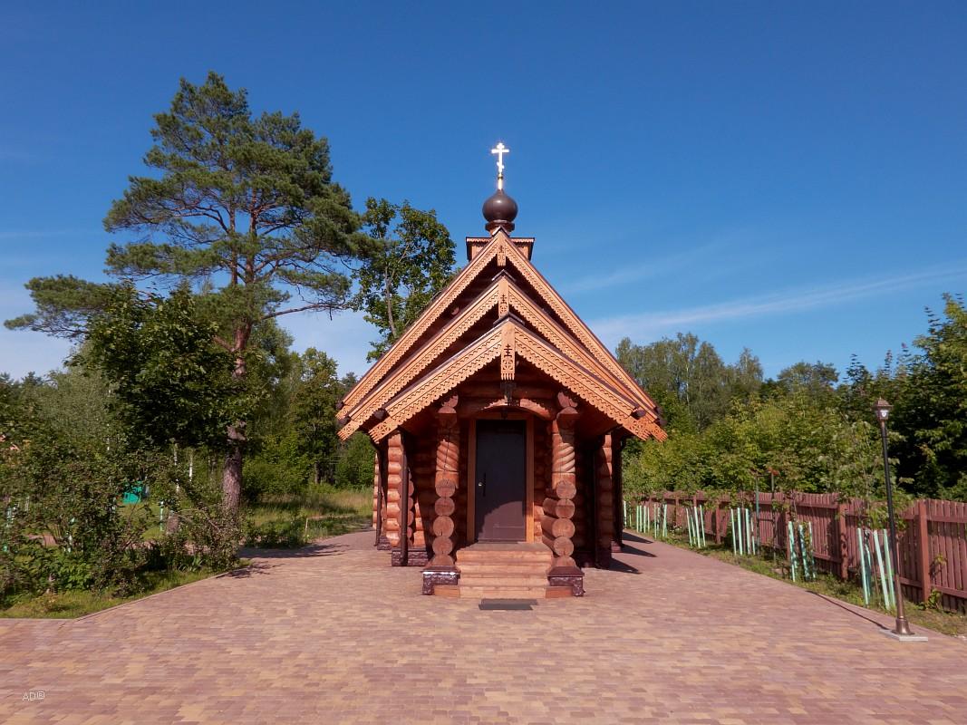 Деревянный храм Петра и Февронии Муромских