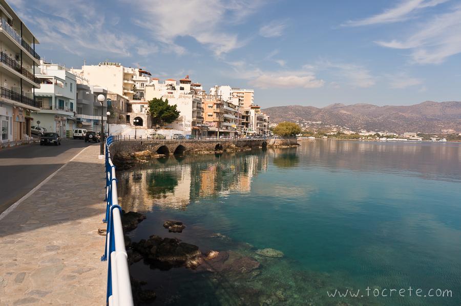 Набережная Агиос Николаос. Agios Nikolaos