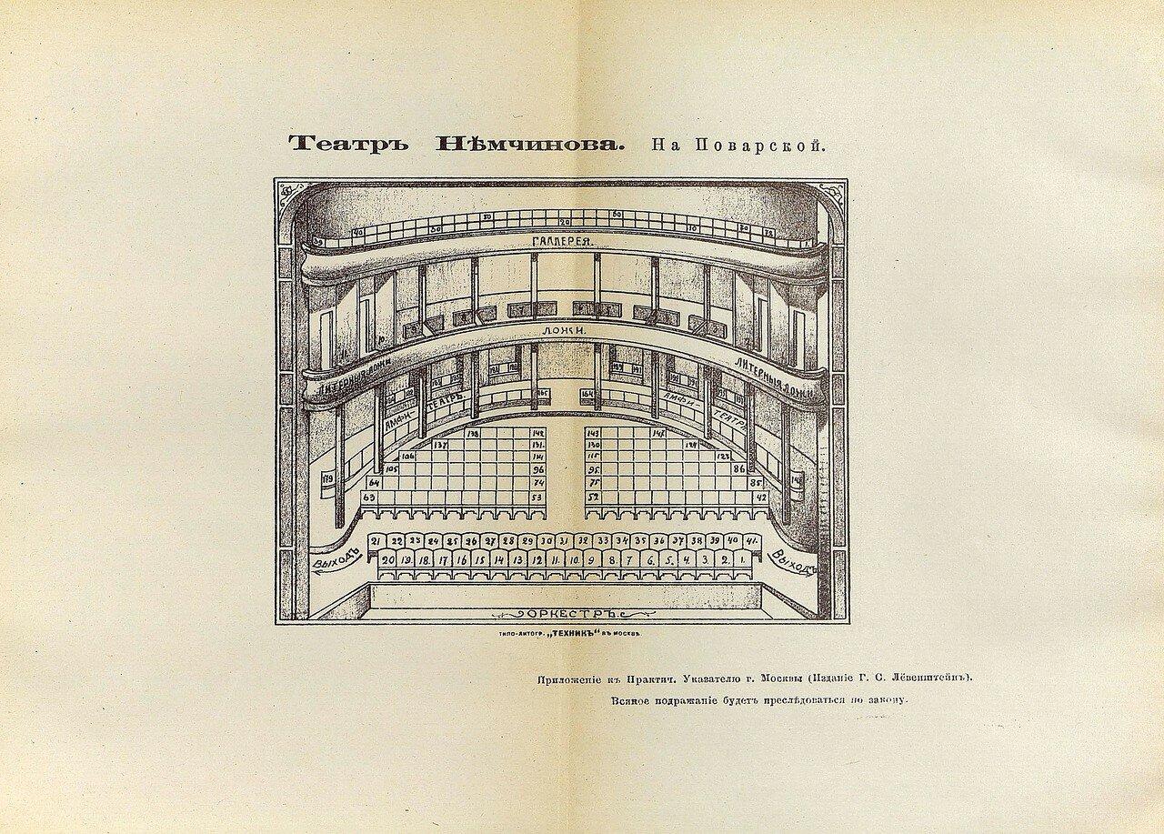 13. Театр Немчинова на Поварской