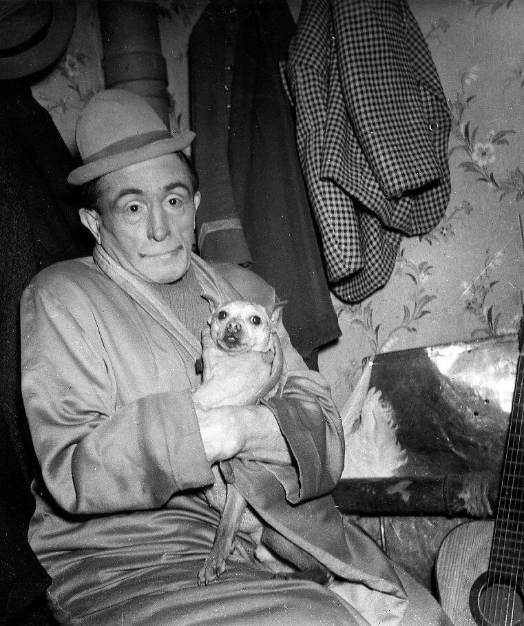 1945. Клоун Беби из Зимнего цирка
