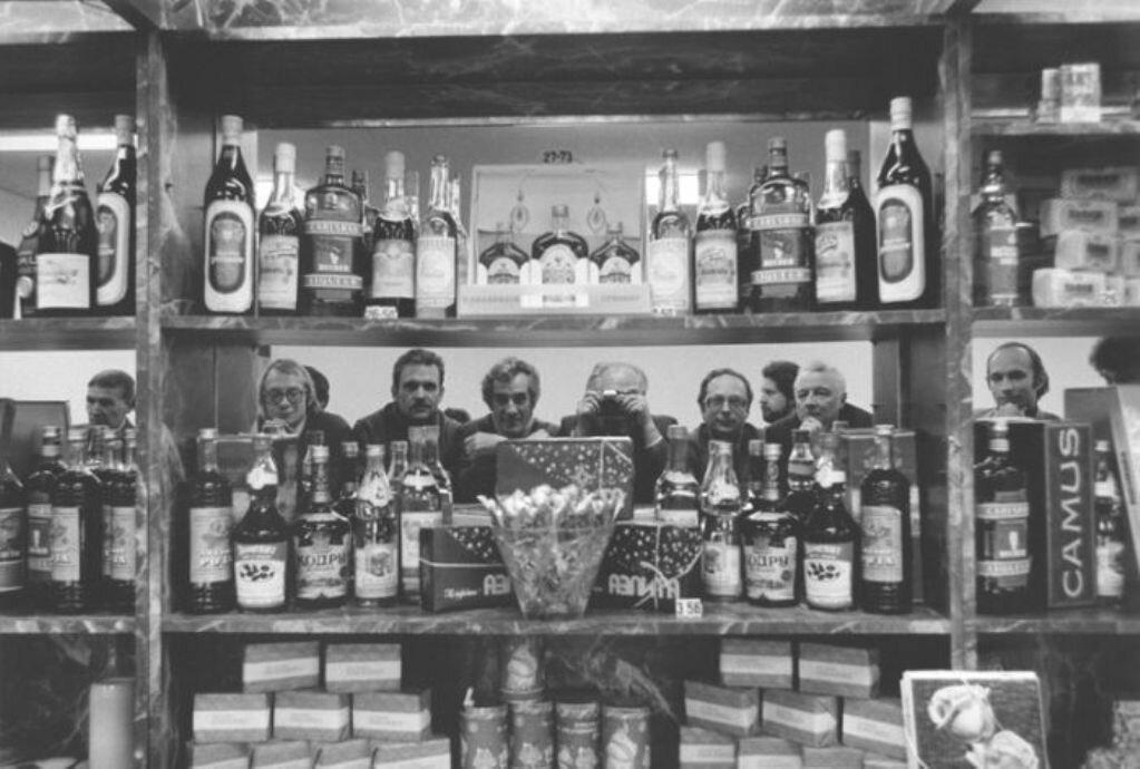 Буфет в аэропорту Внуково 1970