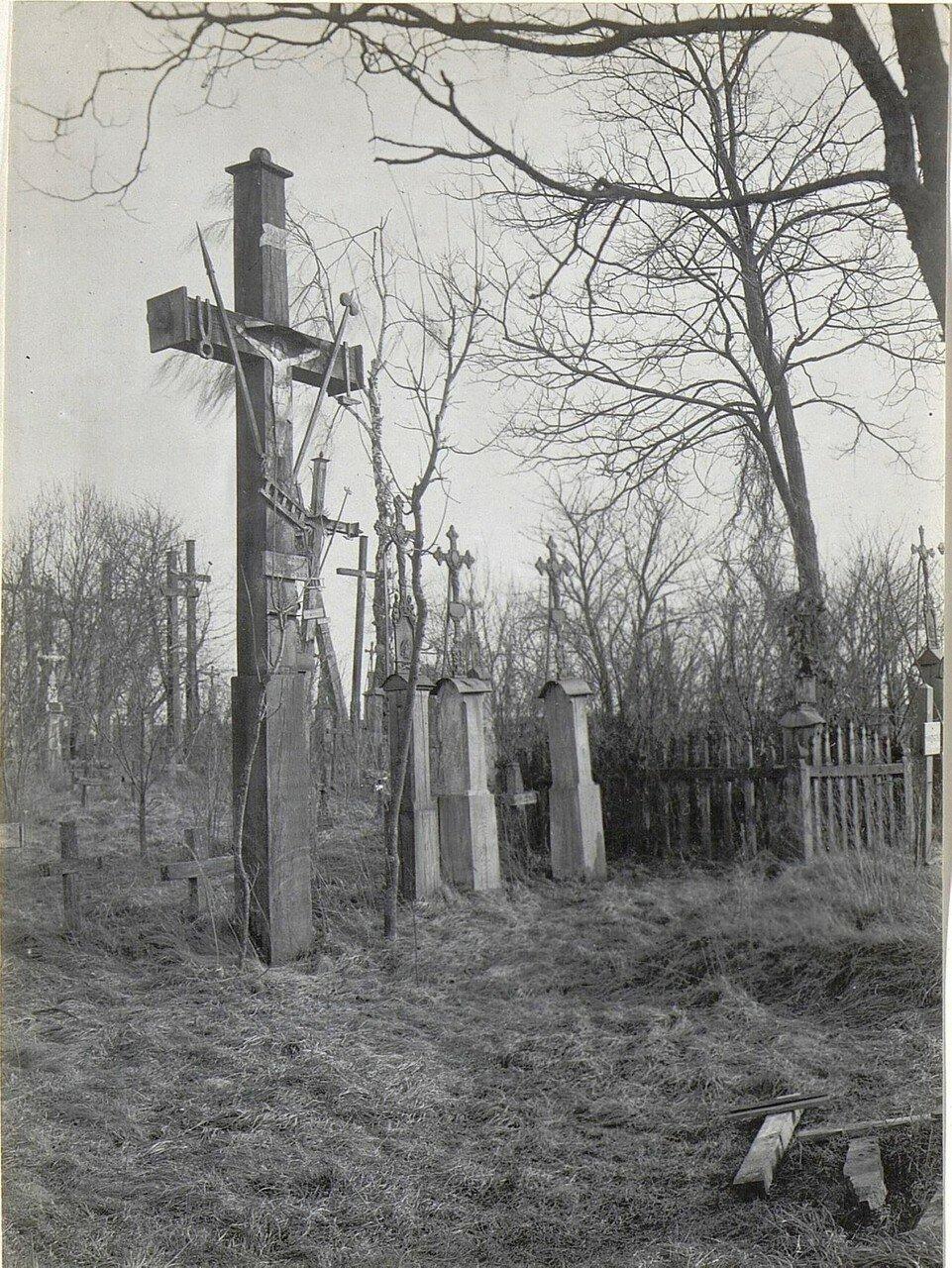 Микуличи. Кладбище.1918.