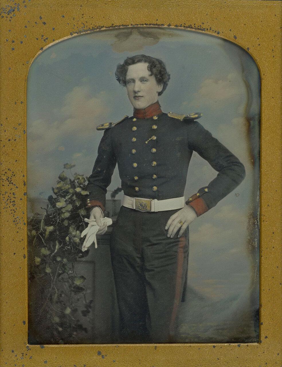 1852. Портрет лейтенанта Роберта Хорсели Кокерелла