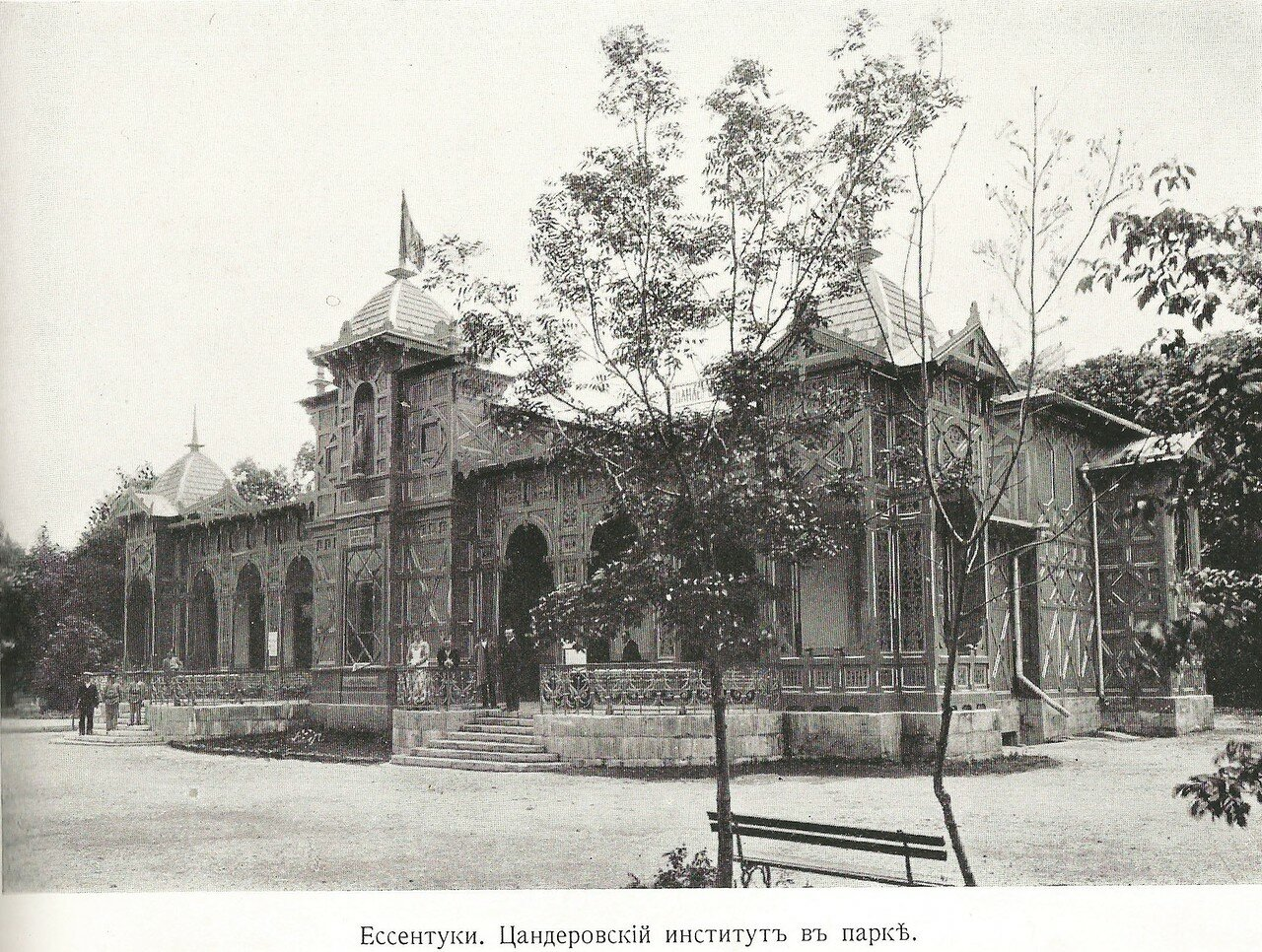 Цандеровский институт в парке