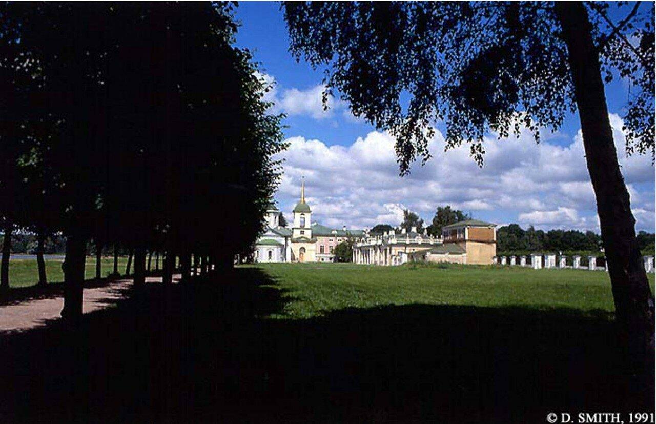 Шереметьевский дворец в усадьбе Кусково