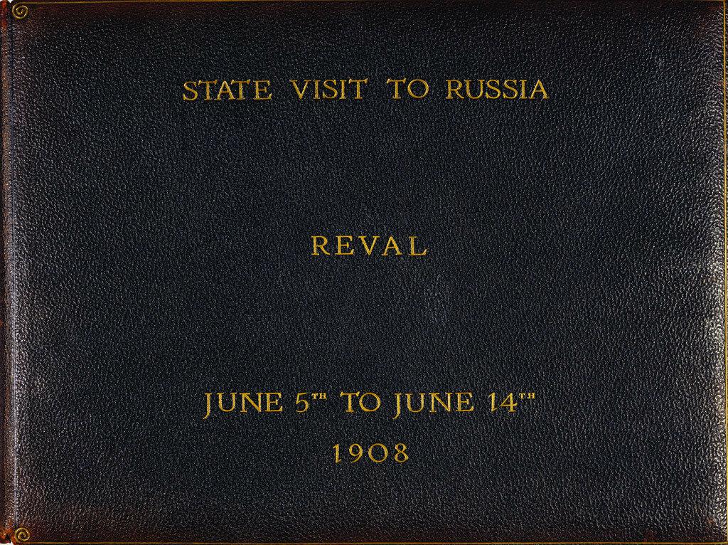 1908. Встреча короля Эдуарда VII и императора Николая II в Ревельском заливе. 9 июня