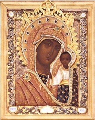 образ Ярославской Казанской Божьей Матери