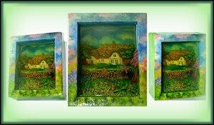 Новик Олеся и ее трёхмерные картины