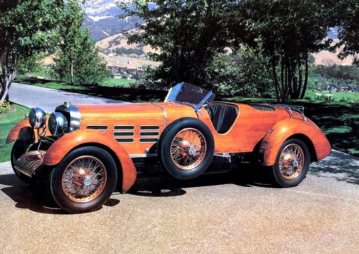 Деревянные автомобили