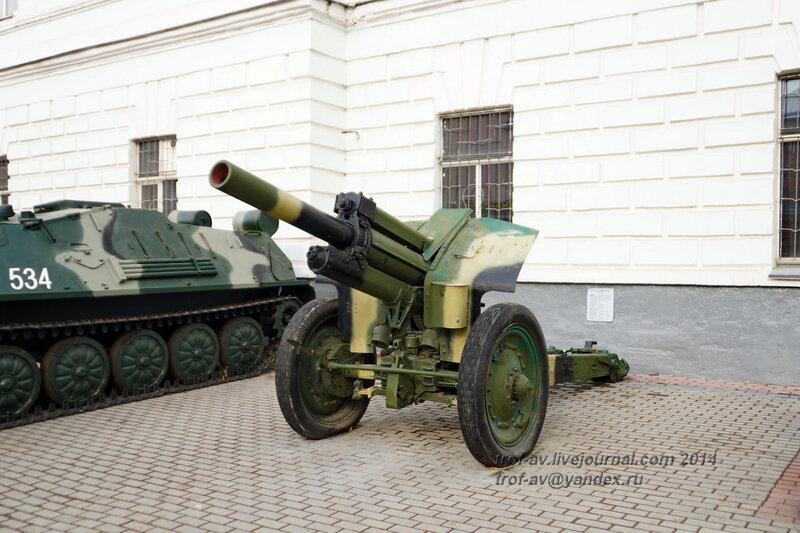 Гаубица М-30, Выставка военной техники у музея истории ВДВ, Рязань