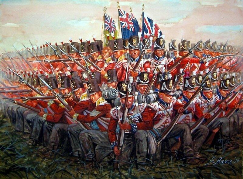 1815 Waterloo, cuadro británico.jpg