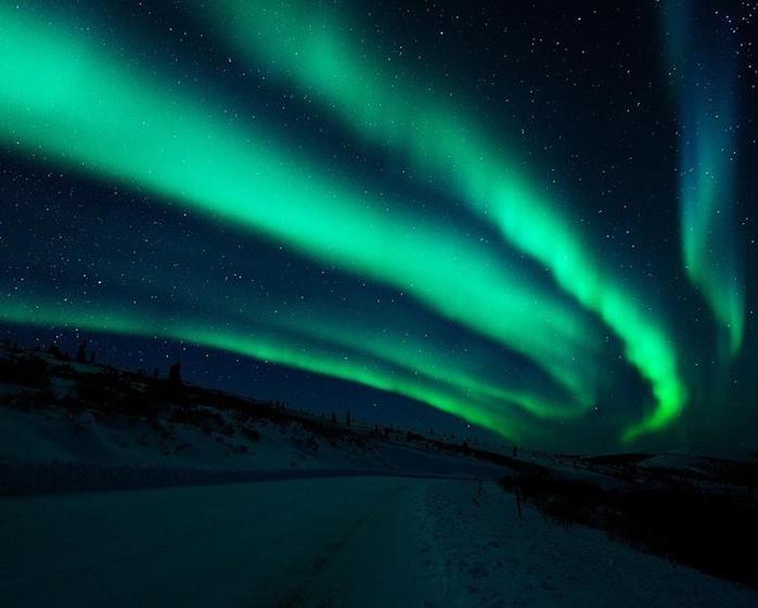 Красивые фотографии полярного сияния 0 10d606 f6060c3c orig