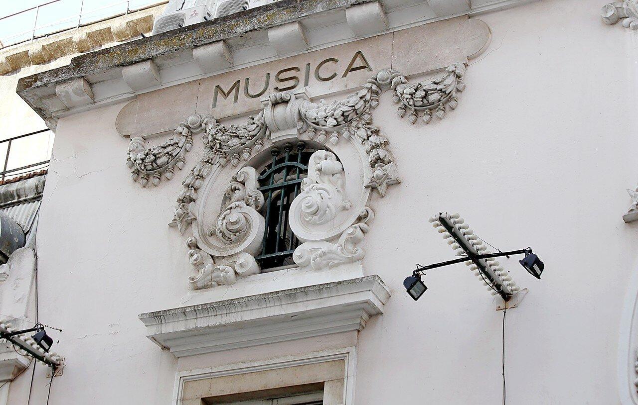 Lisbon. The Politeama Theatre (Teatro Politeama)