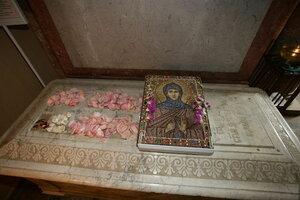 11. Гробница святой блаженной схимонахини Марфы Московской, Христа ради юродивой ( + 1638 г.)