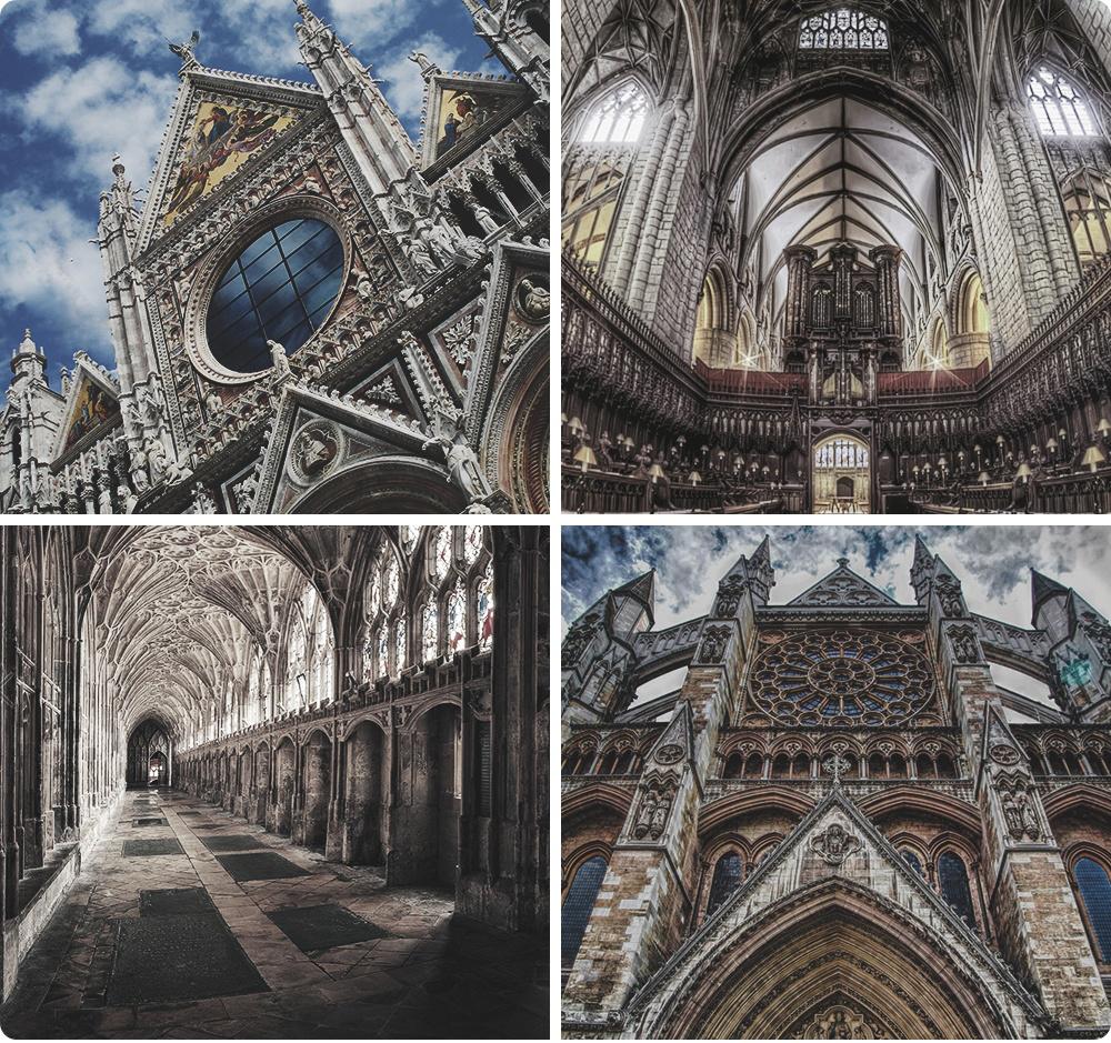 Устрашающе-величественный стиль вархитектуре иживописи, который может послужить прекрасным фоном д