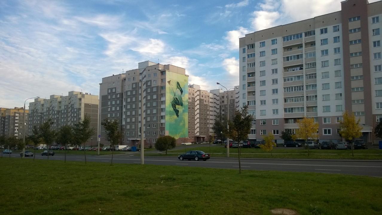 Стрит-арт в Беларуси (12 фото)