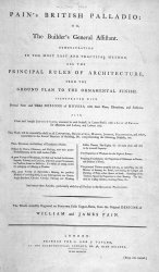 Книга Pain's British Palladio