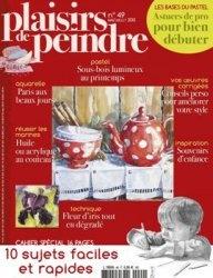 Журнал Plaisirs de Peindre №49 2013