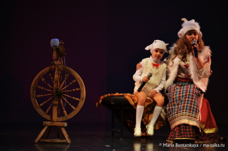 Лучшая молодая семья-2014, Саратов, театр кукол 'Теремок', 27 ноября 2014 года
