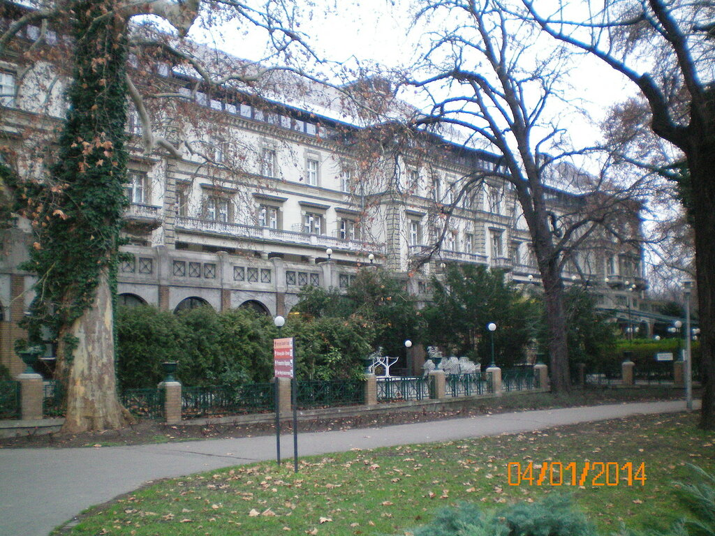 Будапешт, Danubius Grand Hotel Margitsziget 4*