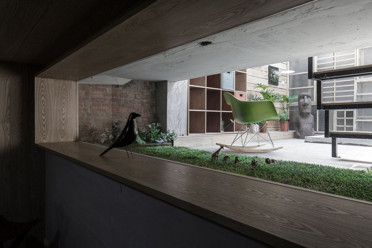 Частный дом в Пиндун, элитные дома в Тайване, The Adventure of the Light, компания House Design, цветной интерьер, яркий дизайн интерьера фото