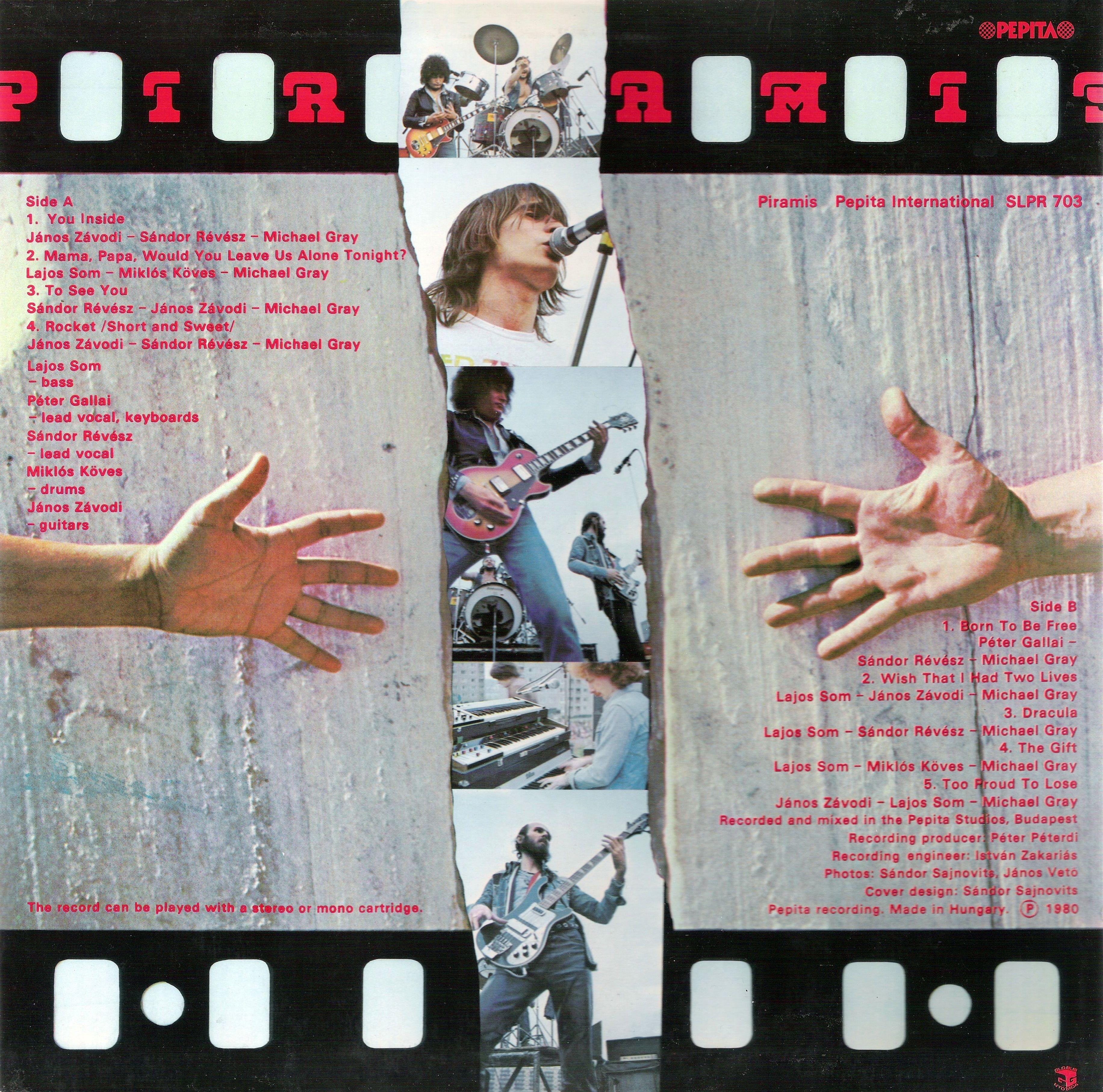Resultado de imagen de Piramis piramis 1980 album