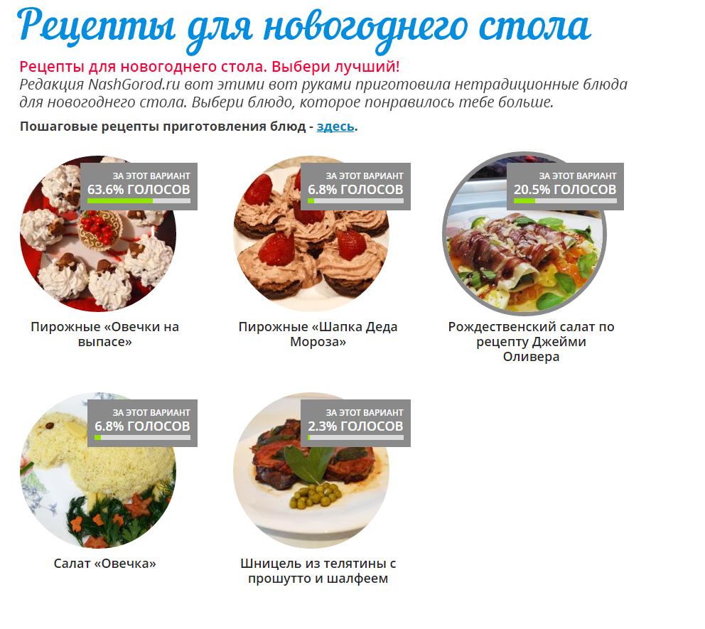 «Новый год с NashGorod.ru»: пройди по ссылкам и получи подарки 4