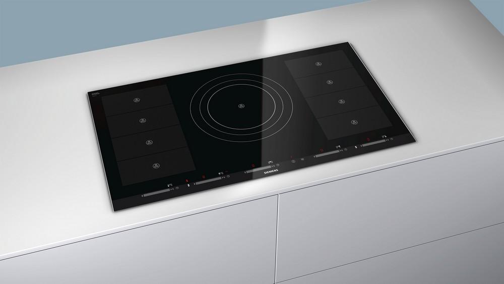 Siemens FlexInduction варочные панели для кухни, индукция, стеклокерамика