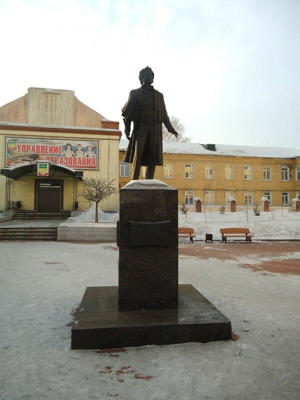 Прокопьевск. Памятник Пушкину