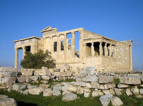 Афинский акрополь. Эрехтейон.