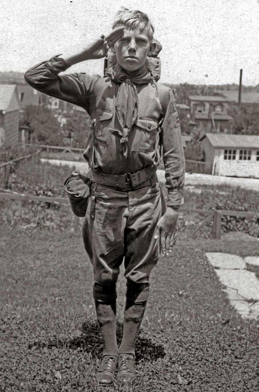 Американские бойскауты начала 20-го века на снимках фотографов (23)