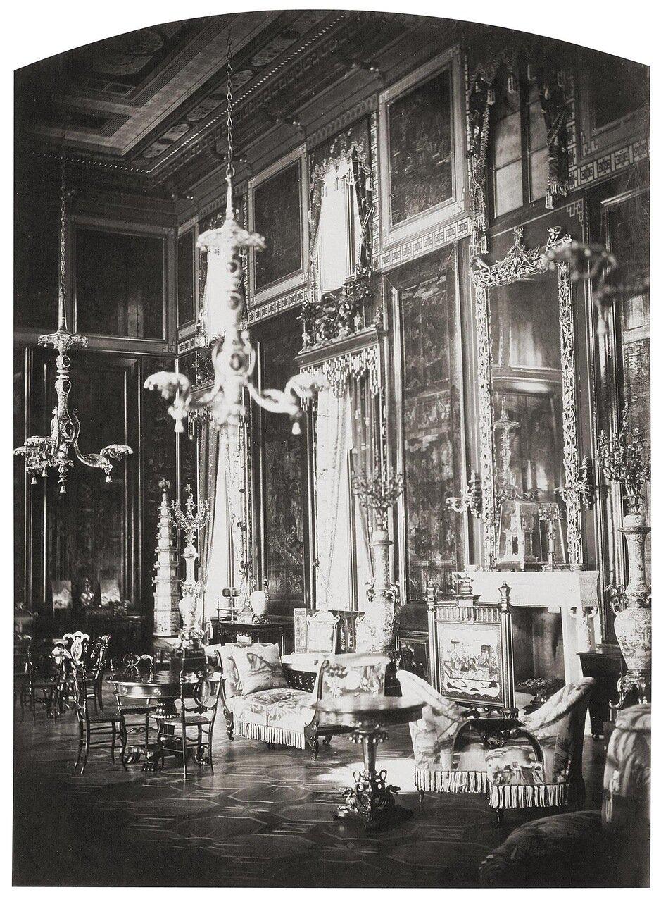 Китайский салон в Екатерининском дворце. 1859