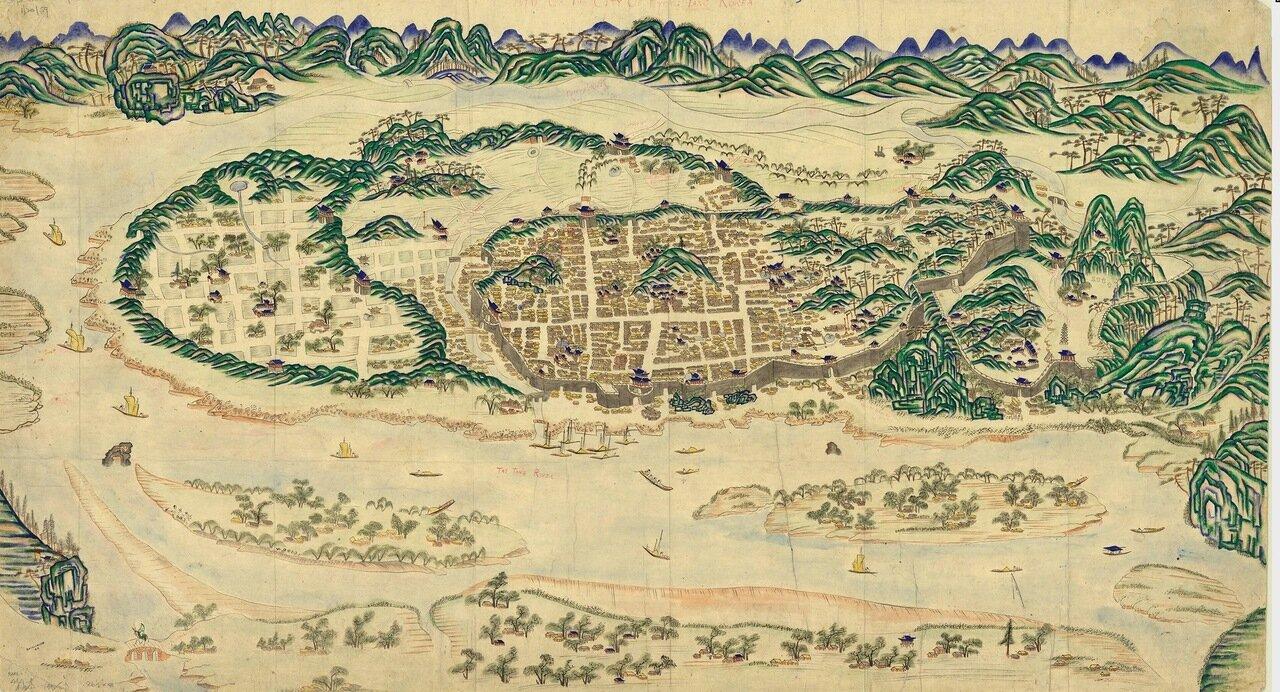 1800. Пхеньян, Корея