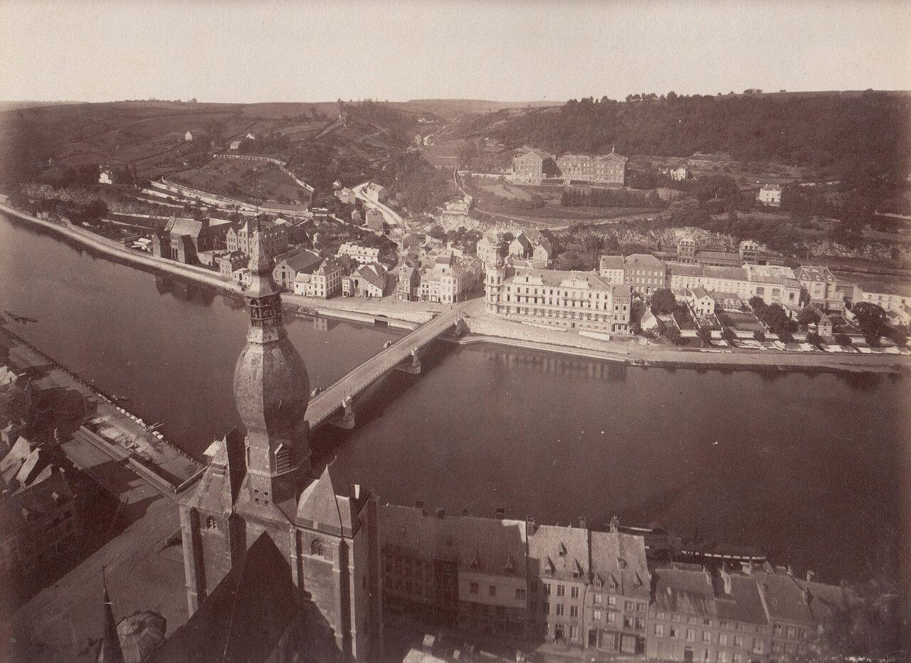 Динан. Панорама предместья Сен-Медар. 1875