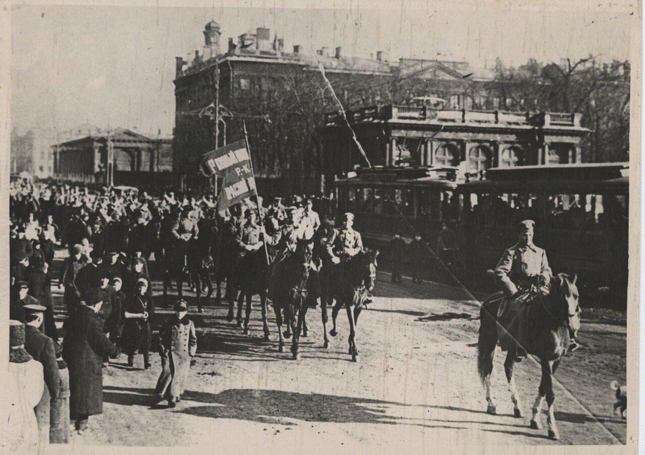 1918. Красноармейцы