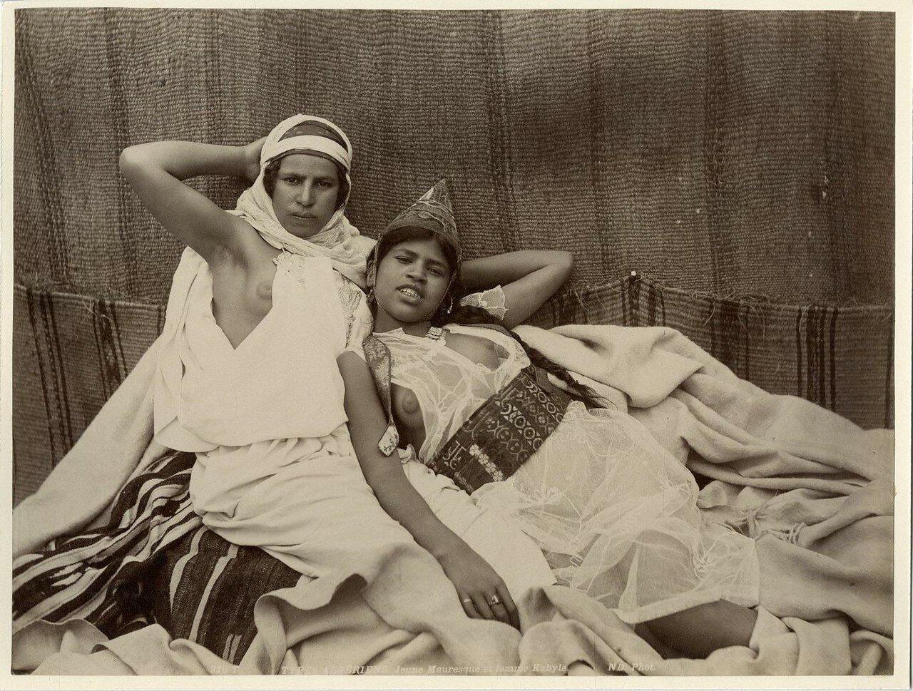 Мавританка и кабилка