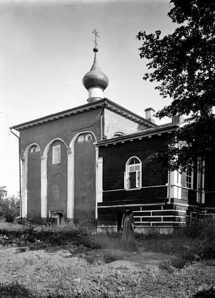 Церковь Св. Мины. Северный фасад. 1905