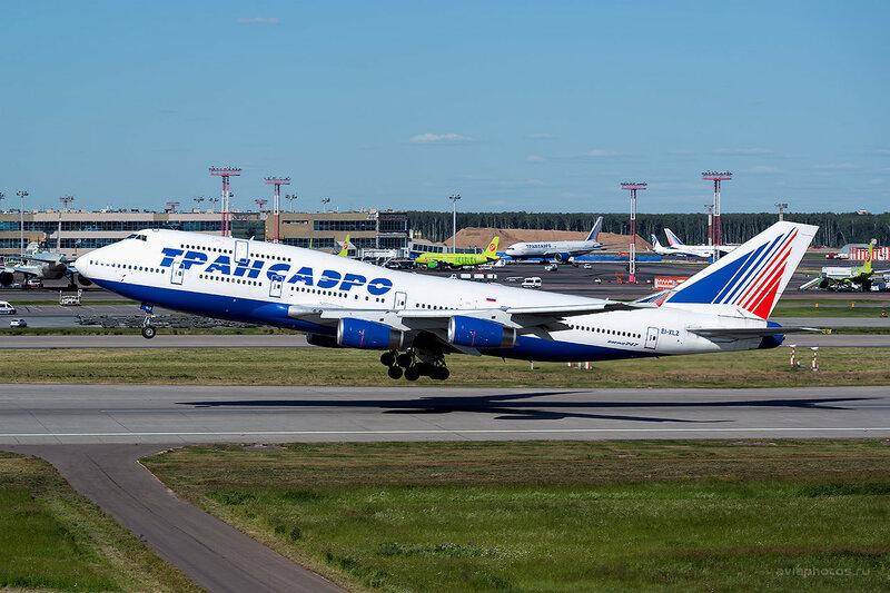 Boeing 747-444 (EI-XLZ) Трансаэро D808820
