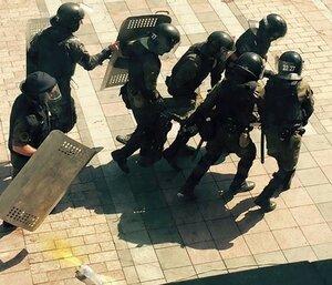 В Киеве начались беспорядки в связи с принятием радой закона
