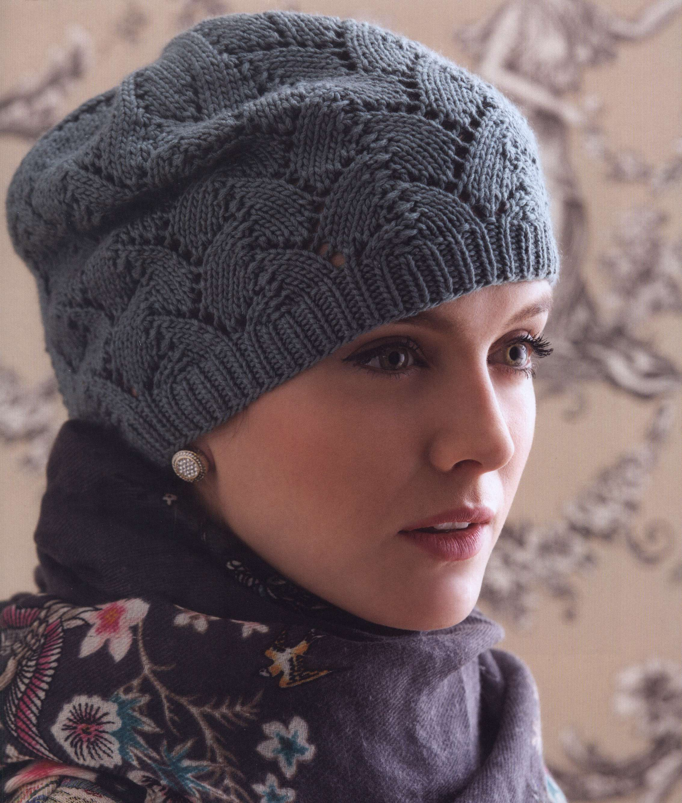 шапка тюрбан вязание крючком схема