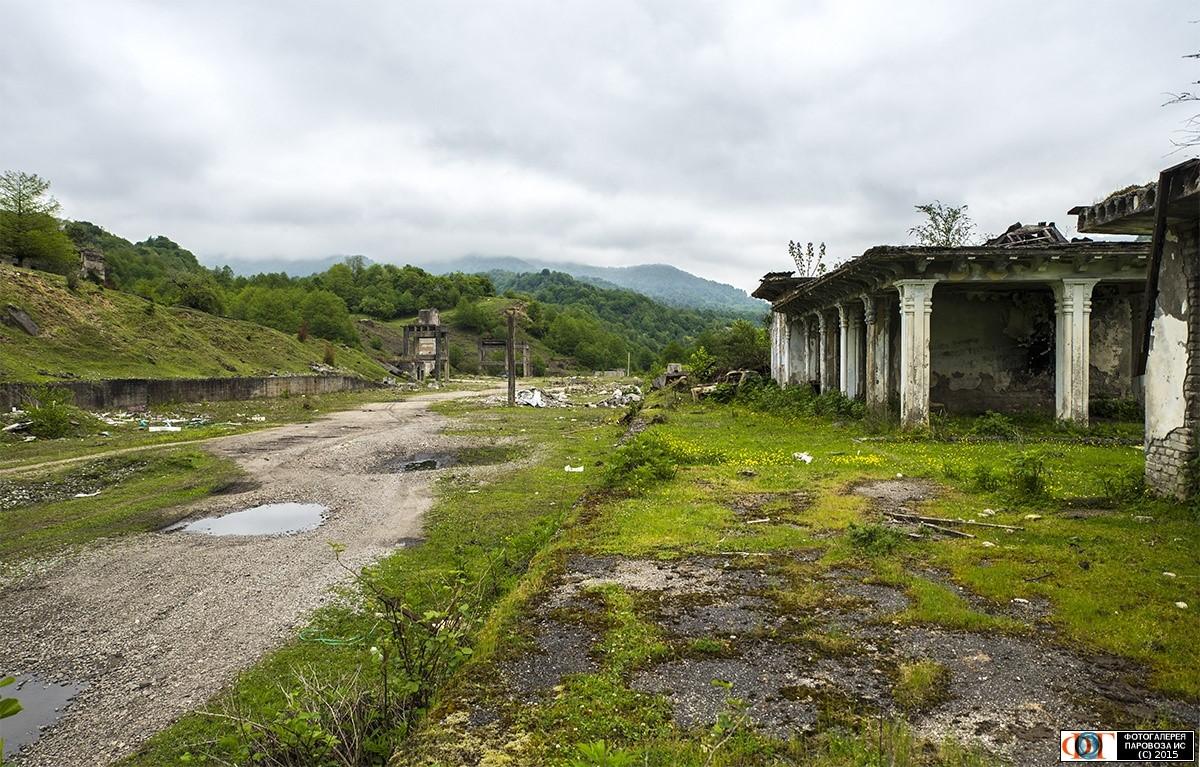Заброшенные города Абхазии