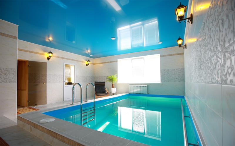 Построить баню или сауну с бассейном с Caminos.com.ua легко