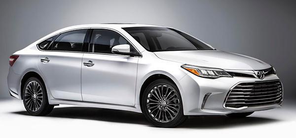 Обновленный автомобиль Toyota Avalon