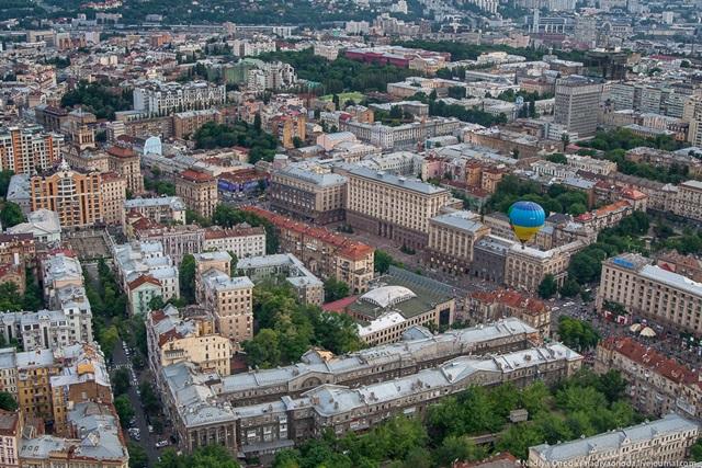 Красивые фотографии Киева с высоты птичьего полета 0 12d0f7 5d3f6718 orig